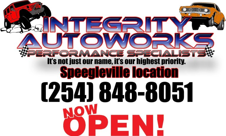 Integrity AutoWorks Now Open in Speegleville Waco
